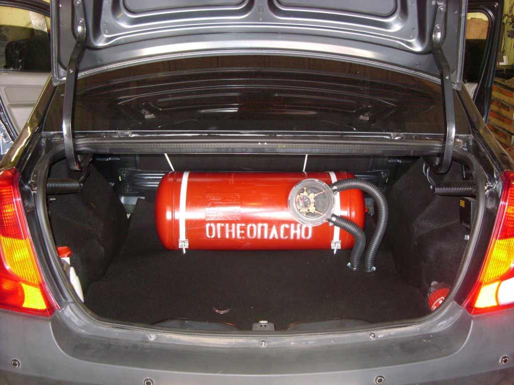 Преимущества газа перед бензином