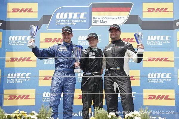 eb4dad65c74c Украинец Павел Копылец поднялся на подиум этапа Кубка Европы по кольцевым  гонкам ETCC