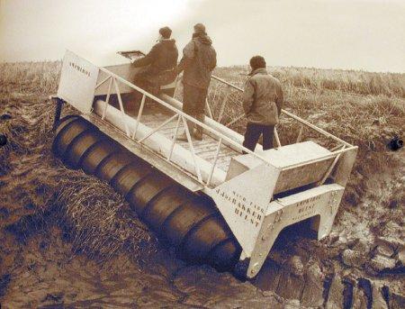 Уникальные советские авторазработки: шнекоход - покоритель болот, степей, лесов...