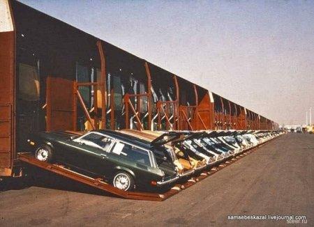 Чудеса погрузки или оригинальный способ перевозки авто