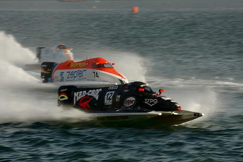 формула 1 на моторных лодках