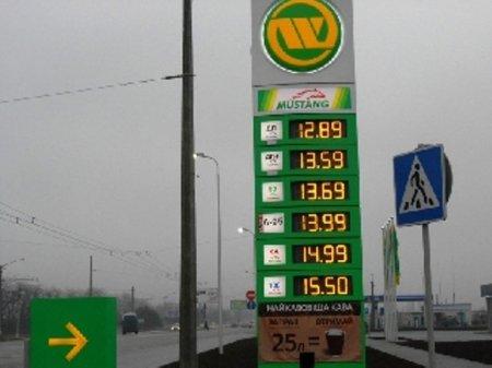 Бензиновый шок - 15,69 за литр