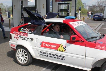 Экипаж Milano - M2motors приняли участие в презентации Чемпионата Украины по ралли