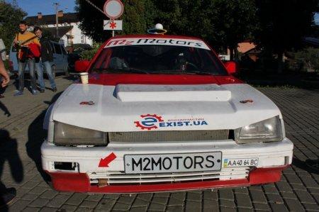 По итогам первого дня Ралли Галиция экипаж m2motors стал лидером монопривода
